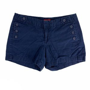 Merona 6 Navy Blue Chino Shorts Nautical